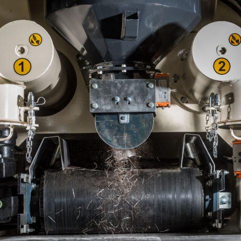 Dosatore fibre metalliche - a peso