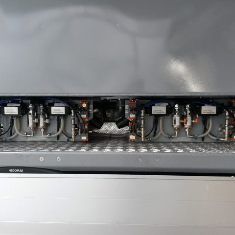Fino a 4 dosatori per additivi liquidi dotati di sensori di flusso